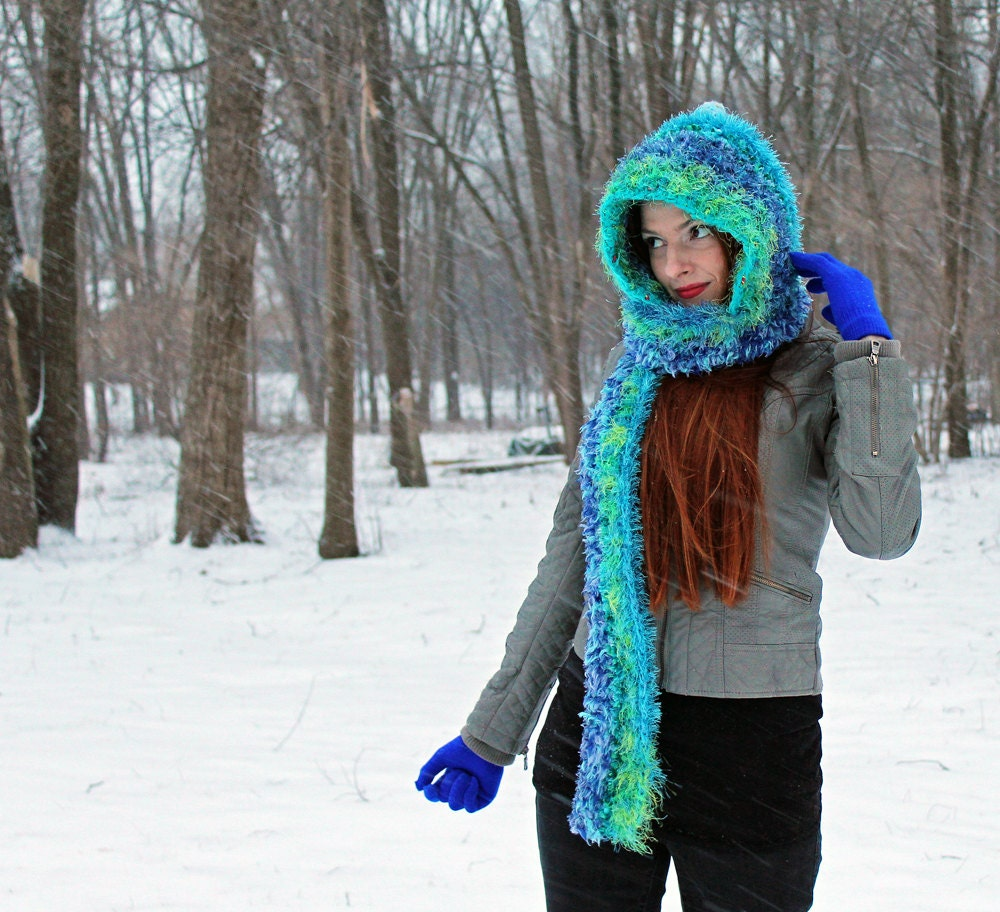 55a769a5985 ... Handmade Crochet Hat Winter accessory Gift for Women or Girls. gallery  photo ...