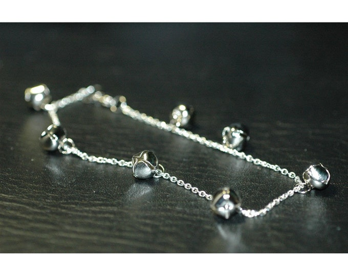 Jingle Bell Anklet Handmade Jewelry Christmas Gifts