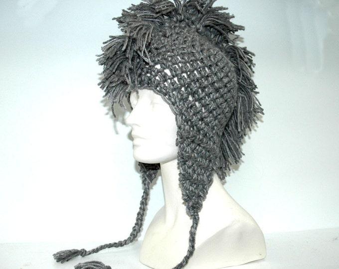 Grey Mohawk Crochet Pattern