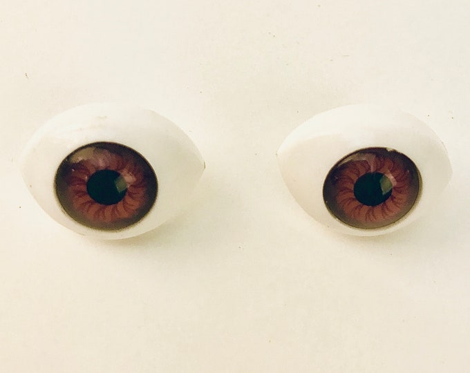 Doll Eye Earrings Stud Jewelry For Flower Child and Psychedelic Boho Chic Hippie Chick Music Festival Gear Halloween Gift Idea Costume