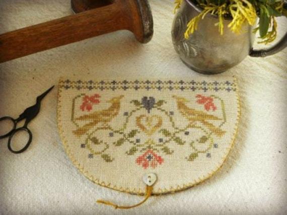 Beggar/'s Valentine Threadwork Primitives Nan Lewis Cross Stitch Pattern