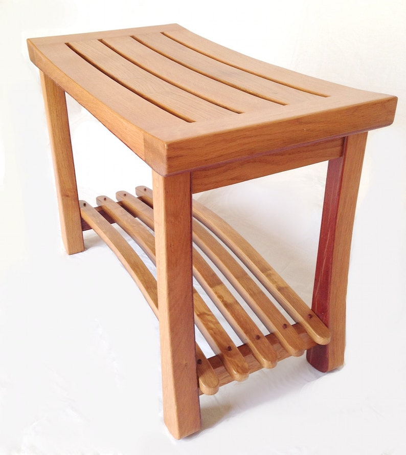 Cello small bench recycled oak wine fermentation tank and image 0