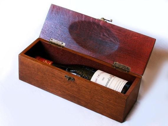 The Trousse, luxury wine gift box, recycled oak wine barrel