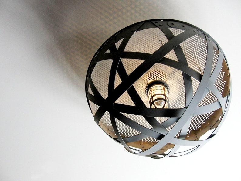 Igloo semi-flush mount ceiling urban light recycled wine image 0