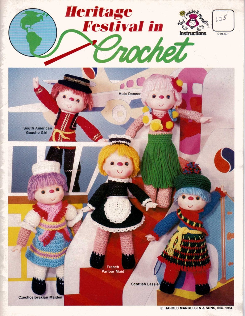 Charleen of Dallas The Needlecraft Shop Crochet Doll Clothes ... | 1025x794