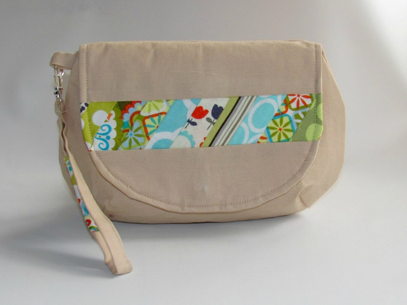 Handbag Clutch Purse Wristlet Bag Makeup Bag Cosmetic Bag image 0