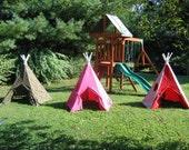 Children's Indoor/Outdoor Teepee - Custom Made