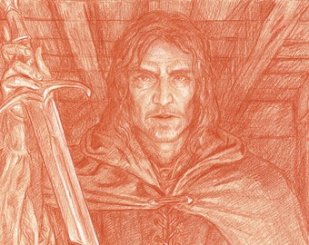 The Blade that was Broken, Original Drawing