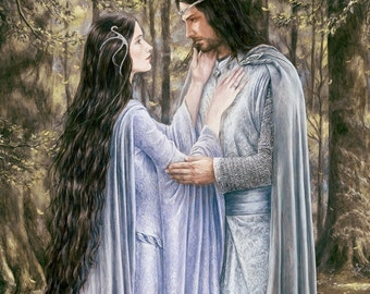 The Eternal Promise, signed giclee print