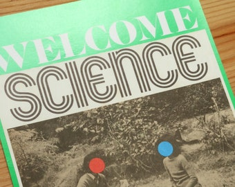 Welcome Science dot dot original collage