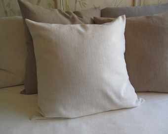 IVORY 24x24 Large Pillow Cover