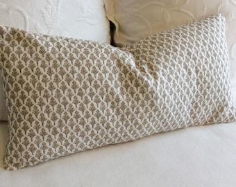 Ponce Driftwood pillow cover 18x18 20x20 22x22 24x24 26x26 13x26 12x20