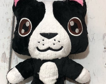 Boston Terrier Plush Etsy