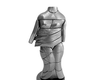 Vintage Miguel Berrocal La Mini Cariatide Puzzle Sculpture
