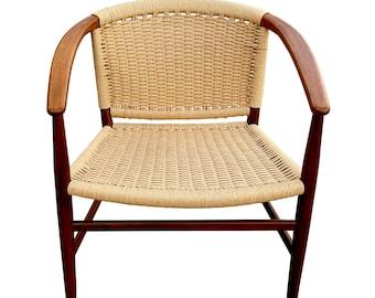 Danish Modern Chair designed by Illum Wikkelso