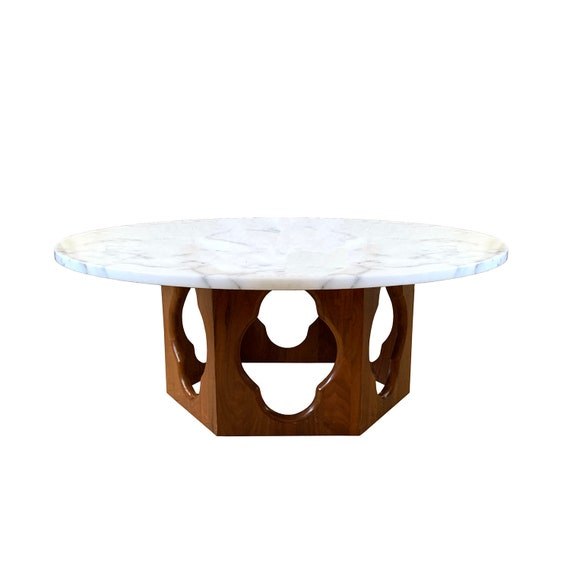 Vintage Harvey Probber Marble Top Coffee Table