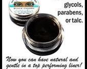 Organic Gel Eyeliner in INTENSE BLACK Unscented Natural Organic Ingredients Easy To Use NATURAGEL
