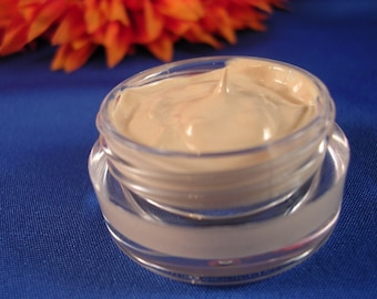All Natural and Organic  Liquid Mineral Foundation SAMPLE SIZE 7 Colors To Choose From Non-Comedogenic  Unscented   Vegan