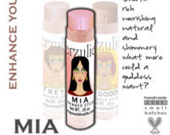 Organic Makeup Cream Shimmer Stick  Non Toxic Makeup Acne Safe Cruelty Free in MIA  add shimmer to any shade