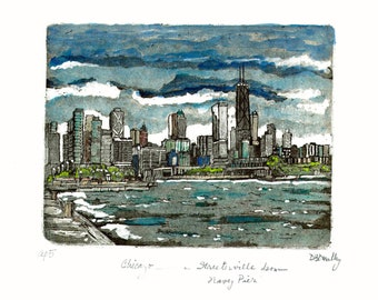 Chicago   Streeterville from Navy Pier
