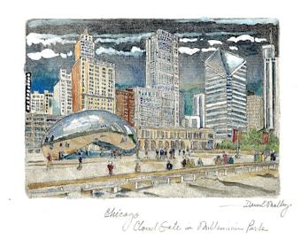 Chicago  Cloud Gate in Millennium Park