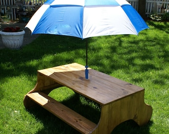 Modern style child picnic table