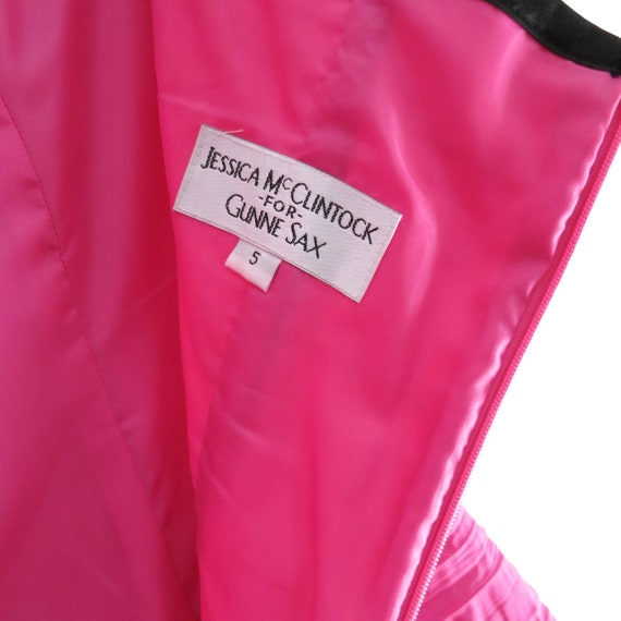 Vintage 90s GUNNE SAX Pink Party Dress XS - image 10