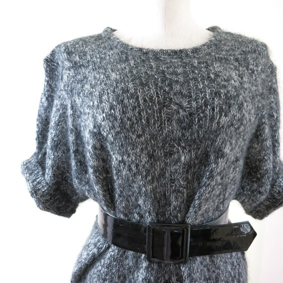 80s Mohair Sweater XL | 1980s Maggie Lawrence Moh… - image 6