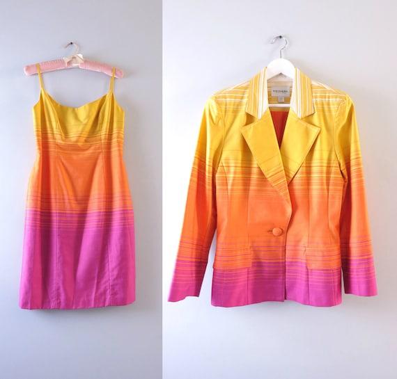 80s Designer Suit M | 1980s Designer Emanuel Ungar