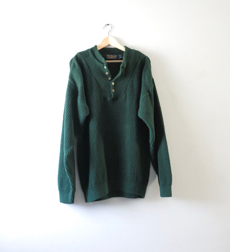 90s Mens Sweater L  1990s Northeast Outfitters Crewneck image 0