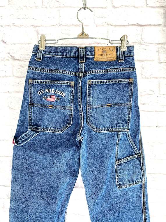 Vintage Womens Cargo Jeans XS/S - image 9