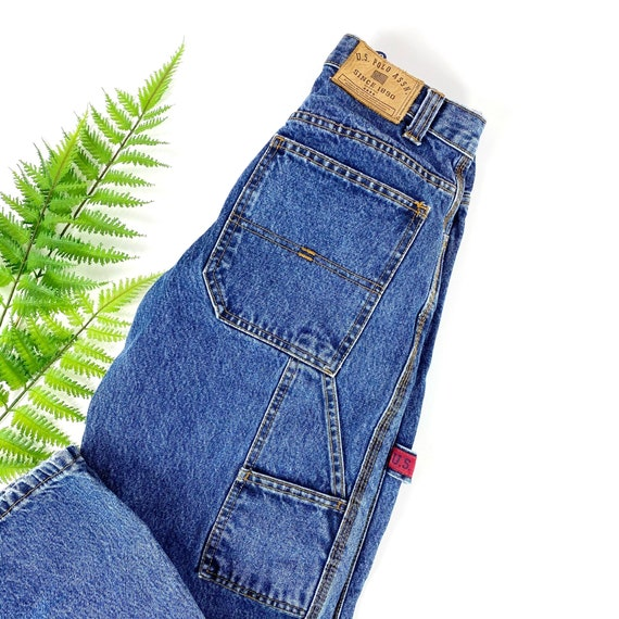 Vintage Womens Cargo Jeans XS/S - image 3