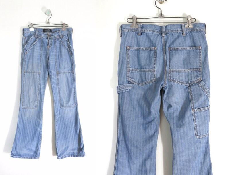 Vintage Flared Jeans Sz 6  1990s Victoria Secret London Jean image 0