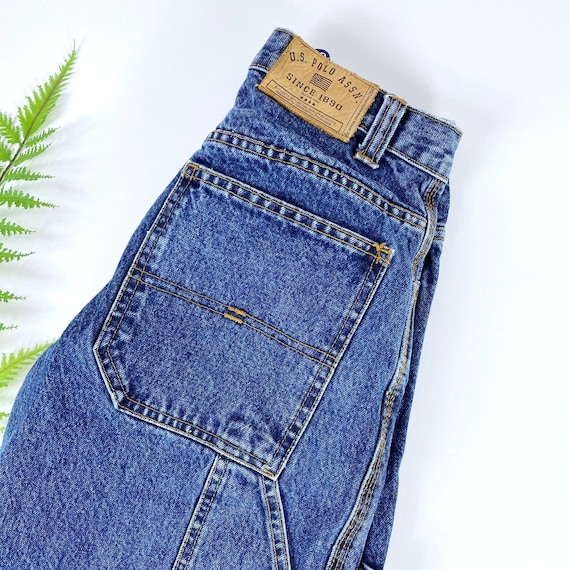 Vintage Womens Cargo Jeans XS/S - image 4
