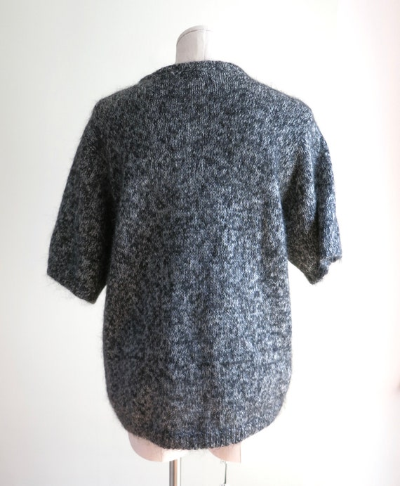 80s Mohair Sweater XL | 1980s Maggie Lawrence Moh… - image 9