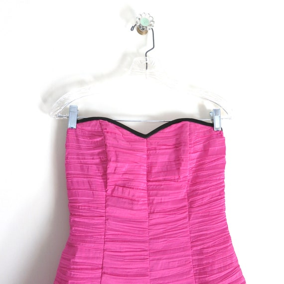 Vintage 90s GUNNE SAX Pink Party Dress XS - image 4