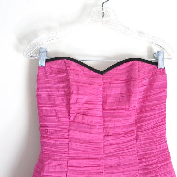 Vintage 90s GUNNE SAX Pink Party Dress XS - image 6