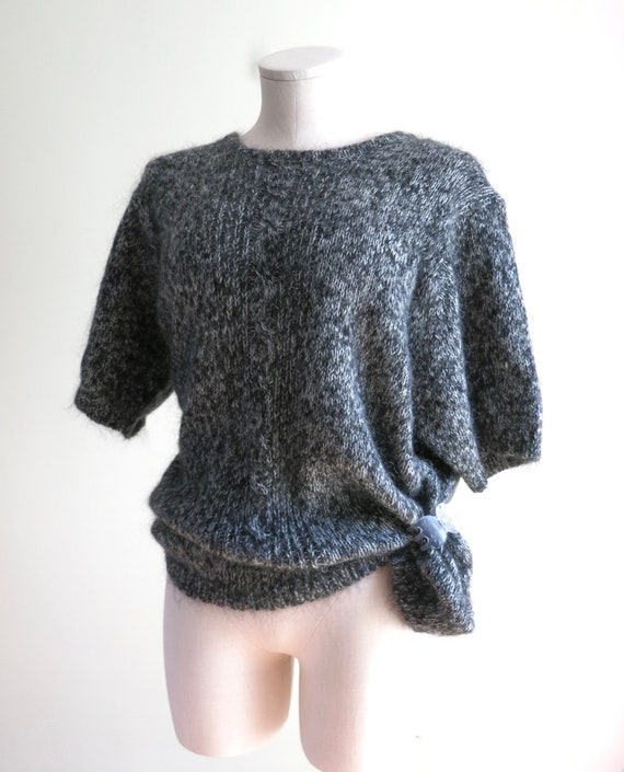 80s Mohair Sweater XL | 1980s Maggie Lawrence Moh… - image 7