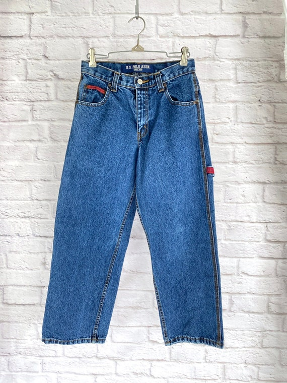 Vintage Womens Cargo Jeans XS/S - image 10