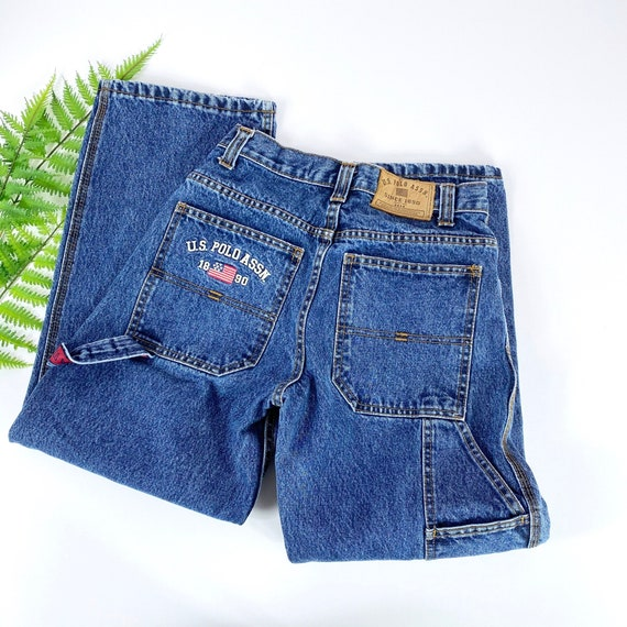 Vintage Womens Cargo Jeans XS/S - image 7