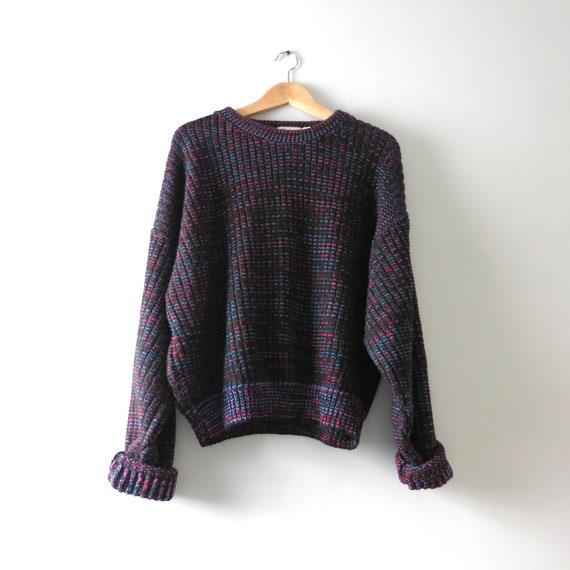 Vintage 80s Oversized Sweater L