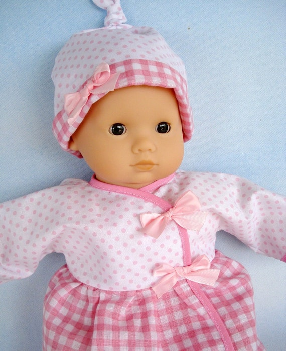 Baby Doll Clothing Sewing Pattern Wrap Dress Shirt Pants Etsy