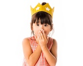 Star Crown, Gold Adjustable Headband, Under 35 Gift, Gender Neutral Birthday Gift for Child, Halloween Costume, Queen Crown, King Crown
