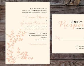 Vintage Invitations, Vintage Wedding Invites, Rustic Wedding Invitations, Vintage Wedding Invitations, Floral Wedding Invitations, Blush