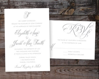 Elegant Invitations, Calligraphy Wedding Invitations, Vintage Wedding Invitations, Luxury Wedding Invitations, Elegant Wedding Invitations