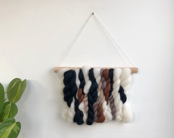 Small Woven Wool Banner