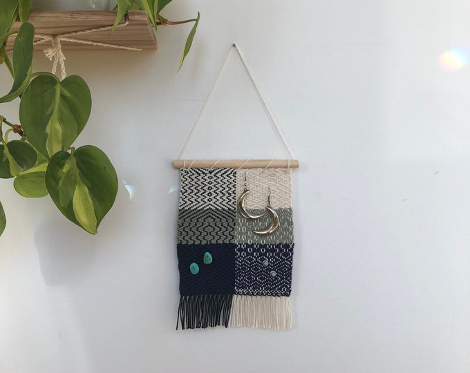 Small Woven Earring Banner