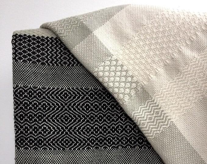 Handwoven Organic Wool Blanket #2