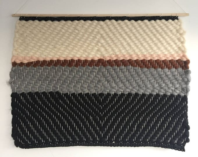 Lucy's Diamond Woven Wall Hanging
