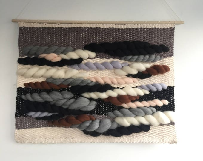Rainy Day Daydream Woven Wall Hanging